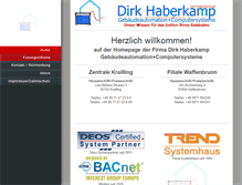 Tablet Preview of haberkamp.de